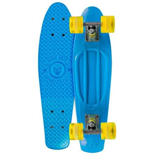 Madd Gear Pro Skins Retro Cruiser - Blue/Yellow