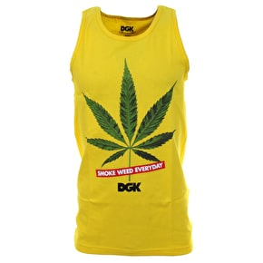 DGK Smoke Weed Every Day Tank Top - Yellow