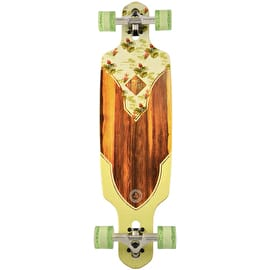 Kryptonic Drop Through Complete Longboard - Birds Of Paradise 36