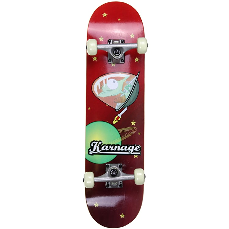 Karnage 29'' Complete Skateboard - Alien Red