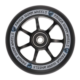 Panda 100mm Spoked Scooter Wheel - Black