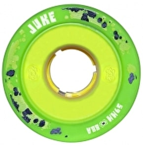 ATOM JUKE GAMETHANE 59mm Quad Derby Wheels 88A (4pk) Green Yellow