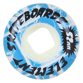 Element Rocksteady Skateboard Wheels - Street 52mm