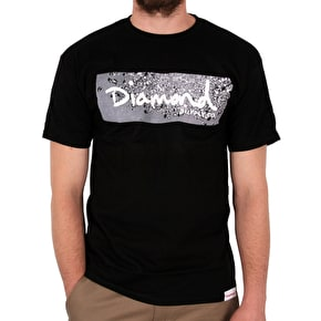 Diamond Scatter Box T-Shirt - Black