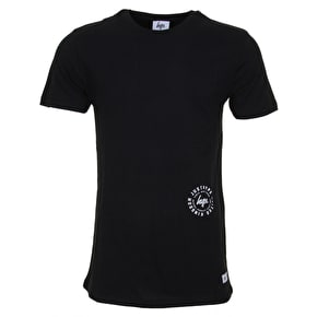 Hype Double JustHype T-Shirt - Black