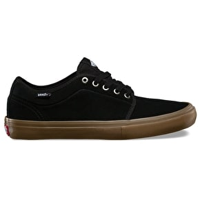 Vans Chukka Low Pro Skate Shoes - Black/Gum
