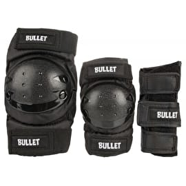 Bullet Combo Standard Pad Set Junior - Black