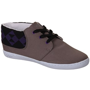 Keep Ramos Shoes - Grey/Purple Snakenose