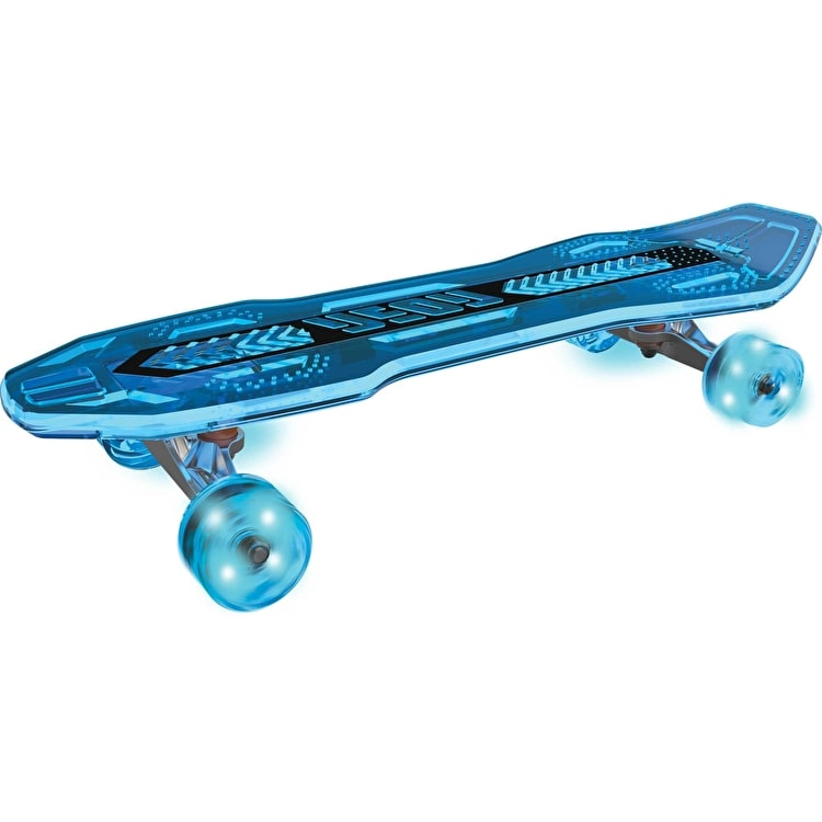 Neon Cruzer Light Up Complete Skateboard - Blue