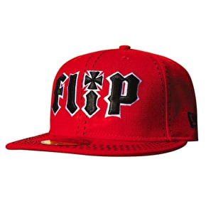 Flip x New Era 59Fifty Fitted Cap - Red