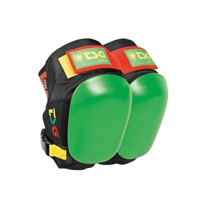 TSG Force 3 Kneepads-Rasta