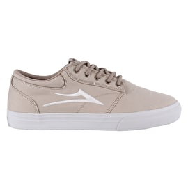 Lakai Griffin Textile (Co-Bound) Skate Shoes - Cream Canvas