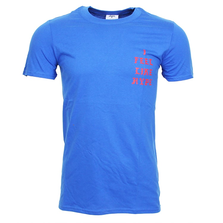 Hype X Urban Decay I Feel Like Hype T shirt - Blue/Red