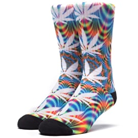 Huf Plantlife All The Light Socks - Blue