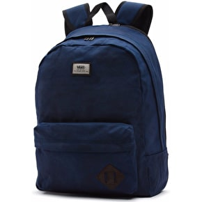 Vans Old Skool Plus Backpack - Dress Blues Waxed Canvas