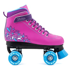 B-Stock SFR Vision II Kids Roller Skates - Pink/Blue J13 (Cosmetic Damage, No Box)