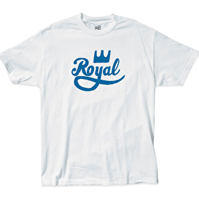 Royal Stress T-Shirt - White