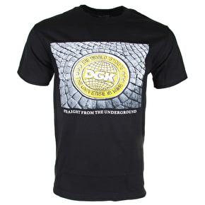 DGK Ground Up T-Shirt - Black