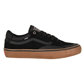 Vans TNT Advanced Prototype Skate Shoes - Black/Gum