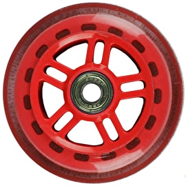 JD Bug Original Street 100mm Scooter Wheels - Red w/Bearings