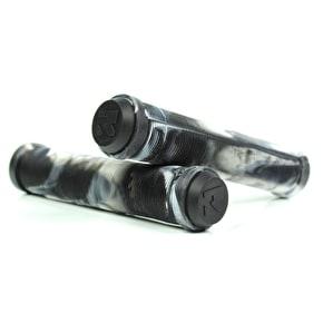 Root Industries Scooter Grips - Black/White