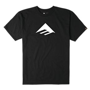 Emerica Triangle 7.1 T-Shirt - Black/White