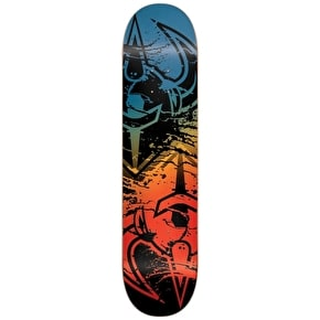 Darkstar Skateboard Deck - Drench Red/Blue 8.5