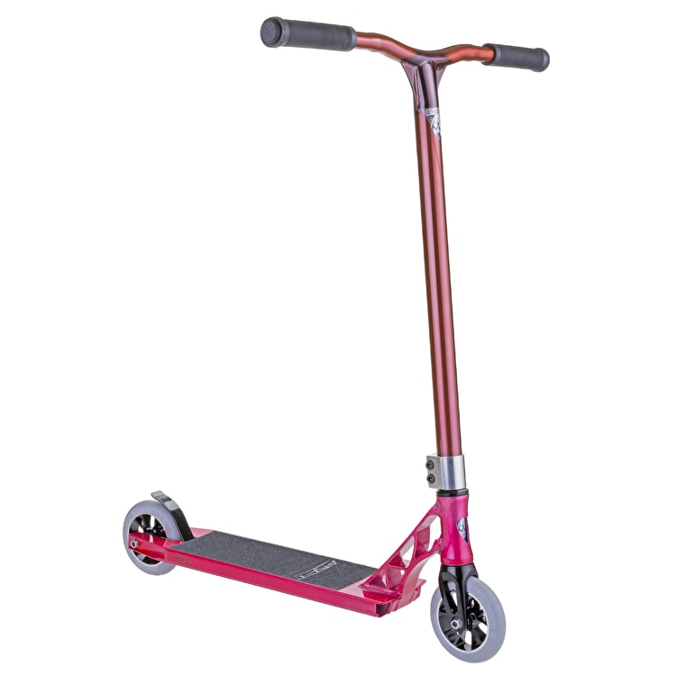 Grit Stunt Scooter - Invader 125 2016 Raw/Red