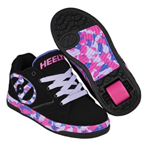B-Stock Heelys Propel 2.0 - Black/Lilac/Pink/Confetti J13 (Returned)