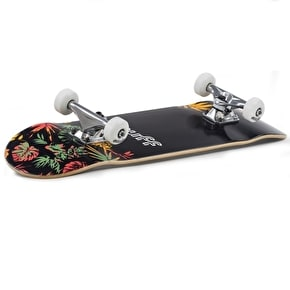 Enuff Floral Complete Skateboard - Orange