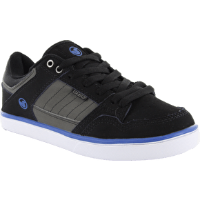 DVS Ignition CTX Kids Shoes - Black/Grey Nubuck