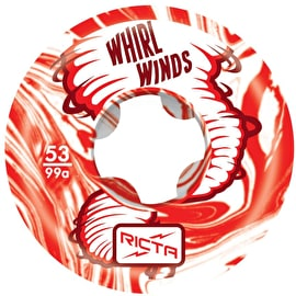Ricta Whirlwinds 99a Skateboard Wheels - Red 53mm (Pack of 4)