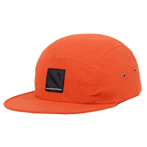 WeSC 5 Panel Cap - Poppy Orange