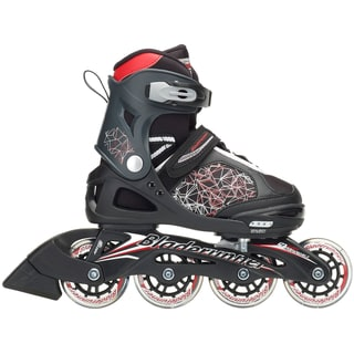 Bladerunner 2018 Phaser Adjustable Inline Skates - Black/Red