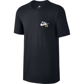 Nike SB Dri Fit Whale T-Shirt - Black/Barley Green