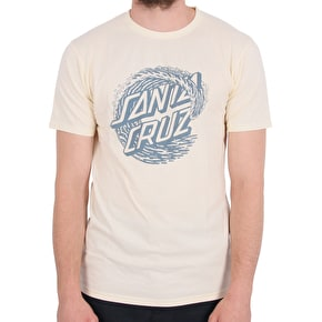 Santa Cruz Whitecap T-Shirt - Vintage White