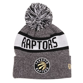 New Era NBA Marl Knit Beanie - Toronto Raptors