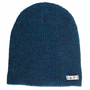 Neff Daily Heather Beanie - Black/Blue