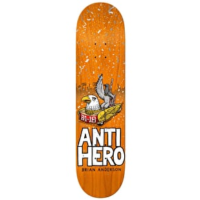 Anti Hero BA 1st Skateboard Deck - 8.62
