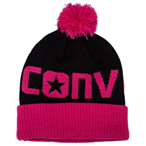 Converse Youth Bobble Hat Pink
