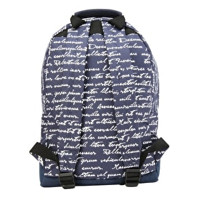 Mi-Pac Mini Script Backpack - Navy
