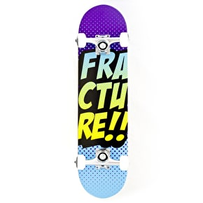 Fracture Skateboard - Comic VT Purple/Blue 7.25