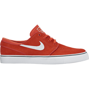 Nike SB Zoom Stefan Janoski Skate Shoes - Max Orange/White