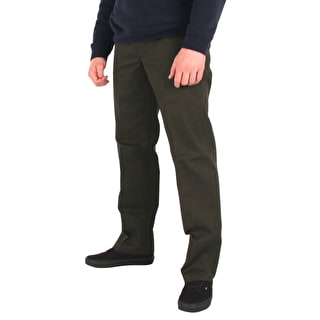 Dickies Slim Straight Work Pant  - Olive Green