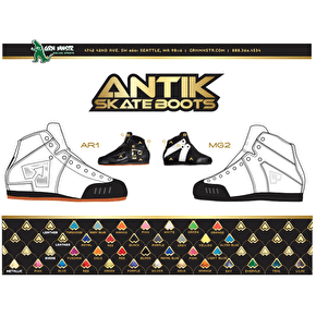Antik MG2 Spektrum Boot- Full Custom Option