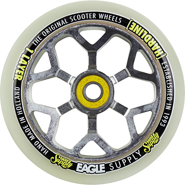 Eagle 110mm 1-Layer 6M Snowballs Scooter Wheel - White