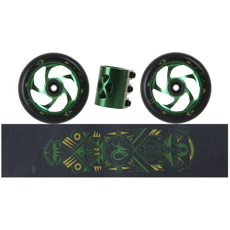 AO Scooters Delta Kit - Green