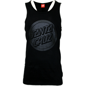 Santa Cruz Reverse Dot Vest - Black