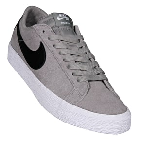 Nike SB Blazer Zoom Low Skate Shoes - Dust/Black