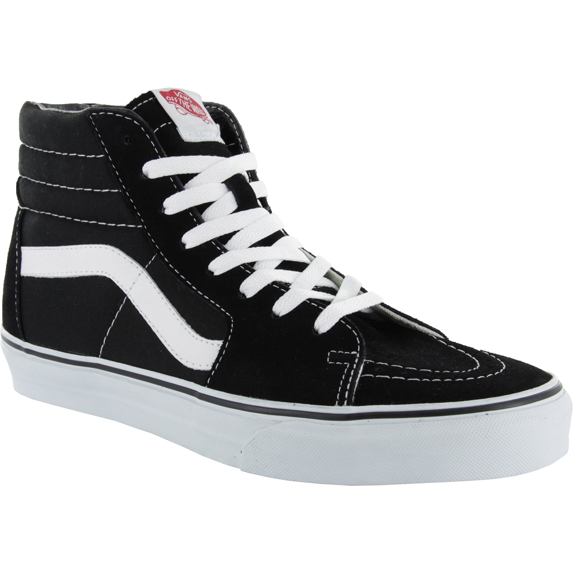 e43a8bd4daa303 Vans Sk8-Hi Skate Shoes - Black White